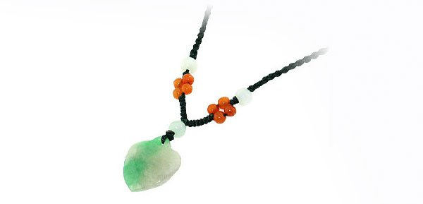 """Fashion Jewelry """"Eastern"""" Jade Pendant of Necklace 013"""