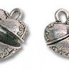 Box Heart Shaped 18x18mm Silver