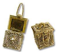 Prayer Box 16x21mm Gold