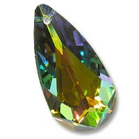 Multi-Color Teardrop 6100 24x12mm Vitrail Medium