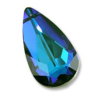 Multi-Color Teardrop 6100 24x12mm Bermuda Blue
