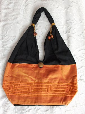 Eilati Purse, Handbag, Mandarin Silk, Accessory (medium)