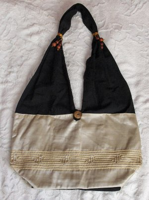 Eilati Purses, Handbags, Mother of Pearl Silk, Accessory (medium)