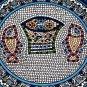 Jerusalem Tiles, Pottery, Ceramic, Home Decor, Kitchen, Bath, Garden, Christian, Jesus, Fish