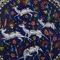Jerusalem Ibex Tile, Pottery, Ceramic, Home Decor, Kitchen, Bath, Garden