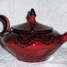 Moroccan Tea Pot, pottery, ceramic, decorative, collectable