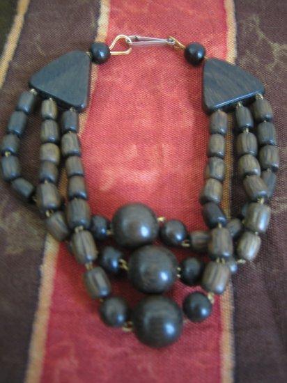 Hand Carved Jade Wooden Bracelet, Jewelry, Beaded bracelet