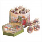 Warm Wishes Boxed Ornament Set- #38966