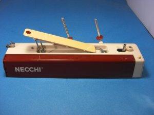 Necchi Sewing Machine Two-Color Top Model 802 P-1