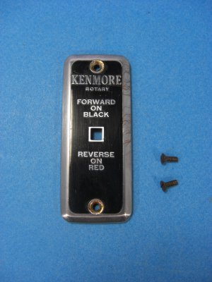 Kenmore Rotary Sewing Machine Face Plate Model 117-141