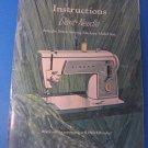 SINGER Slant-Needle Model 609 Instructions Manual