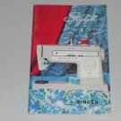 SINGER Stylist Zig-Zag Free Arm Model 522 Instruction Manual