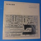 SINGER Athena 2000 Instructions-Operators Guide