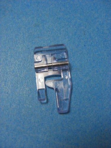 Singer LOW BAR Shank Snap-On PLASTIC BLINDHEM Presser Foot Sole