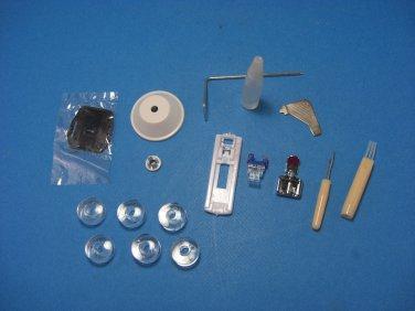 SINGER Sewing Machine Low Shank Feet & Accesories