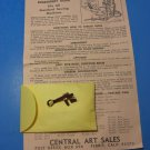 Monogram Embroidery Guide Instructions Low Shank Singer 221 222 Featherweight Sewing Machines