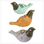 NEW!! FOLK ART BIRD FAMILY
