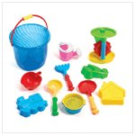 BEACH BUCKET SAND TOY