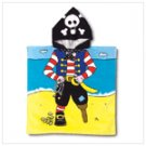 NEW!!  PIRATE HOODED BEACH TOWEL