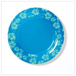 BLUE HAWAIIAN MELAMINE TABLEWARE