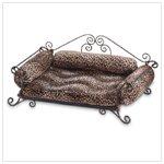 SAFARI PRINT PET BED