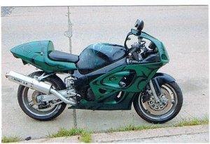 GSXR Race Modifide Streetbike
