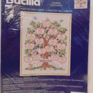 Family Tree Counted Cross Stitch Kit by Bucilla.  Tri-lingual Instructions NIP