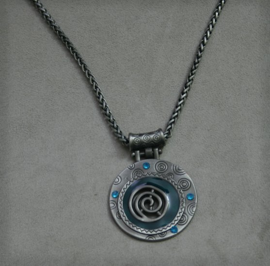 Swirl Necklace