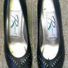 New Leather Navy Ros Hommerson Pumps Size 5.5 / 5-1/2