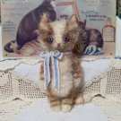 vintage style kitty cat Frisky E-pattern