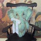 Elephant E Pattern mini mohair Elly Peanut by SReetzBears