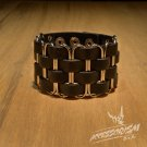 Free Shipping Clips Gothic Wide Bracelet Wristband Cuff (B643R)