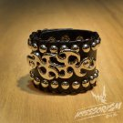 Free Shipping Gothic Metal Cuff Wristband Bracelet Rock Punk (B623R)
