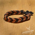 Free Shipping Light Brown & Black String Bracelet (B695S)