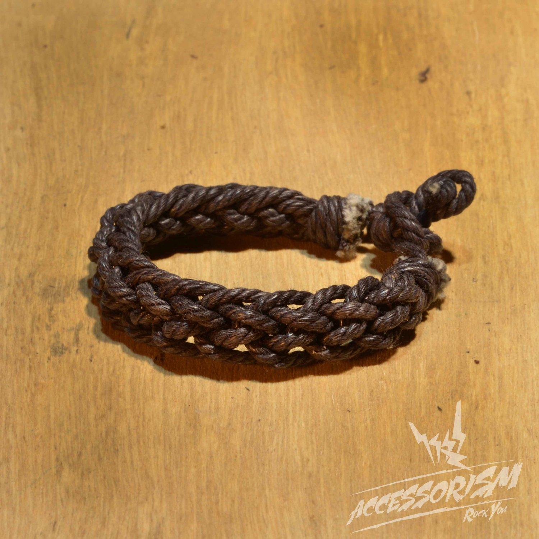Free Shipping Dark Brown String Bracelet (B699S)