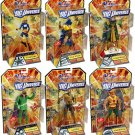 DC Universe Wave 19 STRIPE Series Set of 6 In hand Ready to Ship