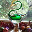 Gorgeous Regal MURANO Blown Art Glass Bird Figure