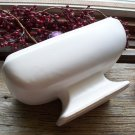 McCoy~Floraline #465 Ivory Pottery Jardinierre Footed Planter