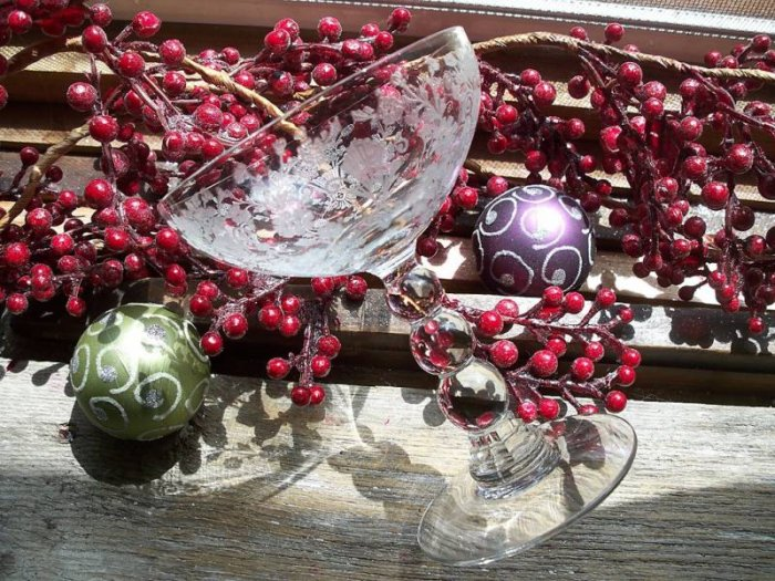 5 Duncan Miller~FIRST LOVE~Champagne~Tall Sherbet Glass