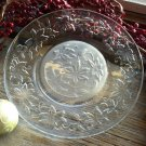 "Set of 4 Princess House FANTASIA 8"" Crystal Luncheon Plates"