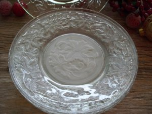 "Set of 4 Princess House FANTASIA 6"" Bread & Butter/Pie Plates"