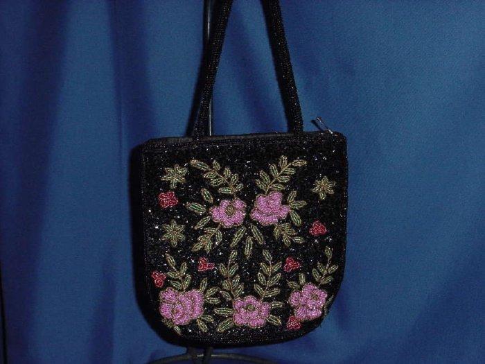 Beaded purse small handbag formal evening purse  No. 121