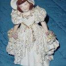 Vintage ceramic or porcelain lady figurine   No. 157