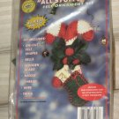 All Stuffed Up felt Ornament Kit Candy and Holly  No. 175