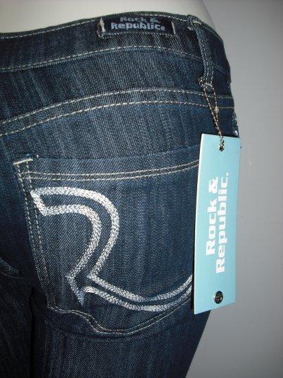 Rock & Republic Straight Leg Jeans NWT Sz. 27 R10-3