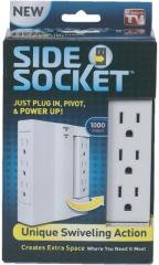 As Seen on TV: Side Socket Case Pack 3