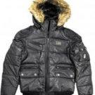 Rocawear Black Women Winter Jacket Size Med