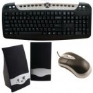 Axis Computer Kit- Multimedia Speakers, Usb Keyboard And Usb Mouse
