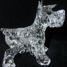 STANDARD SCHNAUZER CRYSTAL GLASS COLLECTIBLE MINIATURE