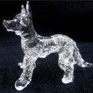 GERMAN SHEPHERD (ALSATIAN) DOG CRYSTAL GLASS MINIATURE